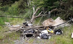 Successful prosecutions for two illegal dumpers