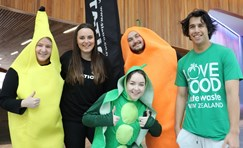 AUT students highlight food waste issues for young Kiwis